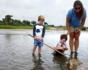Erin is a Special Activities Instructor at the NC Aquarium at Fort Fisher
